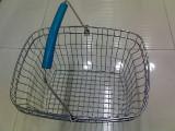 超市购物篮,折叠购物篮,迷你购物篮,不锈钢沥水篮
