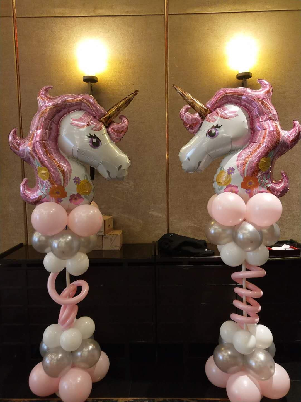 北京迷尼气球 北京宝宝满月百天气球装饰
