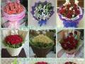 安吉鲜花店帮你免费配送情人节花束
