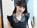 韩国vivi杂志风玻璃水晶假领子百搭款奢华衣领项链