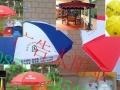 十成新昆明太阳伞|广告太阳伞批发昆明太阳伞印刷字