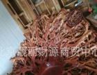 北京现货荔枝红靠背老板椅实木办公椅花梨木官帽椅