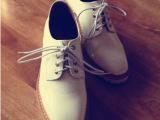 2014秋冬英伦风方头单鞋复古粗跟防水台休闲舒适系带低帮女鞋