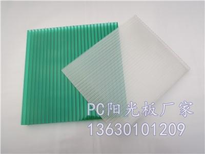 8mm草绿 阳光板 双层 四层 蜂窝 4 20mm均可定做