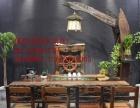 和田市老船木家具茶桌办公桌餐桌椅子实木沙发茶几茶台鱼缸博古架