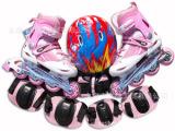 厂家直销可调节的儿童旱冰鞋套装,儿童溜冰鞋套装,永康欧神品牌