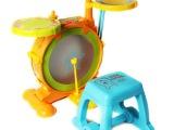 英纷 正品迪士尼婴儿幼儿玩具 维尼快乐伙伴架子鼓2056D