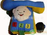 宝宝学习布书 电话造型立体英文布书 宝宝玩具 0-1岁外贸早教布