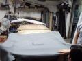 广州汽车顶棚老化脱落修复,天花个性改装,麂皮翻毛皮