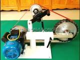 金力达JLD高速小型砂带磨刀机KMG多功能砂带机抛光机