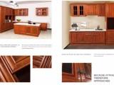 南北旺厂家直销木纹真空热转印铝材全铝合金衣柜仿实木纹环保铝材
