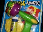 厂家直销玩具 库存玩具 泡泡枪按斤批