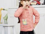 2015秋装新款儿童羽绒服 韩版童装女童羽绒外套 星子厂家羽绒服