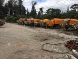 云南昆明官渡区二手混凝土拖泵出售,三一重工60八成新低价转让