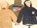 库存童装棉袄 韩版加厚保暖儿童棉服外套 中小童加绒牛仔棉衣清仓