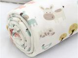 宝宝专用安全纯棉布料 宽幅针织棉布面料 布头宽1.8米 快乐小毛