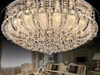 低价批发圆形LED水晶灯具聚宝盆现代客厅卧室大气欧式温馨灯饰