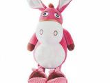 卡通赶集驴毛绒公仔 创意礼品 可爱小驴毛绒玩具 吉祥物玩偶厂家