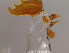 供应生肖鸡玻璃工艺酒瓶1000ml