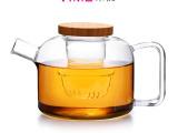 vime 生产批发 耐热花茶壶 手工玻璃茶壶 人形壶 过滤茶壶