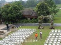 婚庆木质折叠椅白色实木椅道具出租出售竹节椅音响租赁