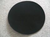 供应优质黑色阻尼布 抛光皮