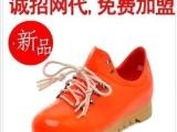 厂家直销 新款系带女鞋低跟内增高女运动鞋