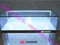 新款小米乐视手机柜台三星华为OPPO前拉展示柜弧形转角配件柜