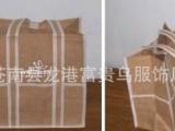 厂家定制亚麻红酒袋 束口酒袋 棉麻束口袋