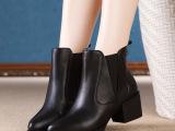 一件代发2014新款牛皮短靴 马丁靴高圆圆同款明星款女鞋厂家批发