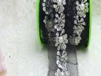 厂家直销服装辅料服饰家纺黑色手工亮片钉珍