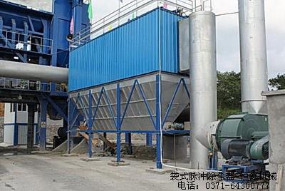 布袋除尘器在工业企业中的用途
