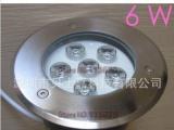 供应LED地埋灯/6W埋地灯/LED大功率地埋灯/户外亮化工程L