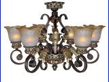 新款欧式树脂铁艺吊灯 LED灯卧室灯 可调光源灯具定制