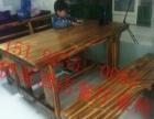 炭化木,纯实木定制,定制各种尺寸 厚度,个性 复古的餐厅桌椅