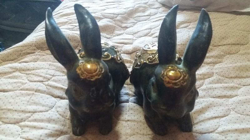 大清铜兔 找有缘人
