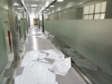 上海玻璃贴膜防撞条镂空腰线磨砂贴办公室隔断膜定制防晒膜