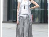 2014夏季女装新款休闲棉麻服饰三件套亚麻长裙连衣裙