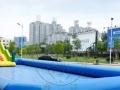广场大型充气城堡;水上乐园,水上滑梯;水上冲关;陆地冲关等
