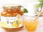 蜂蜜果味茶 韩国原装柚子茶 全南蜂蜜柚子茶 1kg 保质期2017年3月