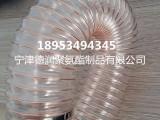 德润厂家供应PU木工管70 0.6mm 除尘聚氨酯透明软管