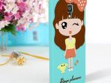 韩国小米4小女孩手机保护套 创意萌小希小米硅胶立体卡通手机壳