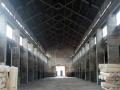 钢架单层9米厂房,装有两个航车适合仓储