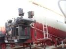 山东出售二手散装水泥罐运输半挂车 买车签订法律合同4年11万公里4.6万