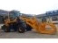 农用小铲车可按装货叉抓头等属具一机多用的装载机价格视频