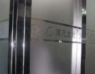 专业写字楼玻璃磨砂贴膜,办公室隔断logo雕刻贴膜