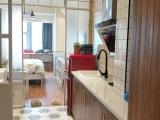 公寓精装修 家具齐全 环境佳 地段好 免物业费宇成开福广场