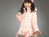 童装女冬装外套 2014新款女童棉衣 韩版加厚儿童棉袄大童女装棉