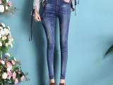 牛仔裤批发代理5到10元直筒九分裤尾货服装批发