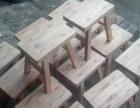 老榆木凳子八字凳换鞋凳榆木靠椅儿童凳子四脚八叉凳子